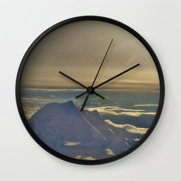 At the Top of Denali Wall Clock