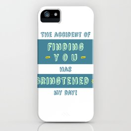 """Bringtehed"" iPhone Case"