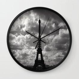 Eifell Tower Wall Clock
