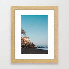 playa los mangos Framed Art Print