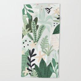 Into the jungle II Beach Towel