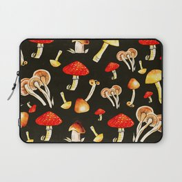 Brigt Mushrooms Laptop Sleeve