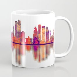 Sharjah Skyline Coffee Mug