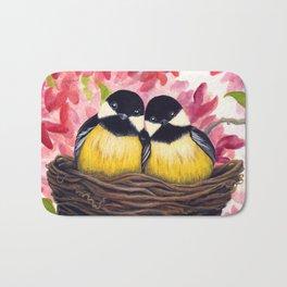 Chickadees Bath Mat