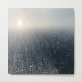 Megacity TWO Metal Print