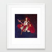 jedi Framed Art Prints featuring Jedi Jade by Cola82