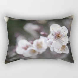 The Early Cherry Blossom Rectangular Pillow