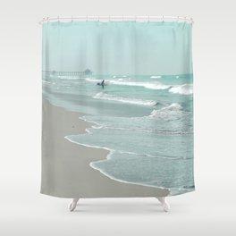 Surf City Shower Curtain