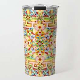 Rainbow Carousel Starburst Travel Mug