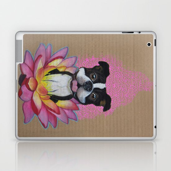 Zen Boston Terrier Laptop & iPad Skin