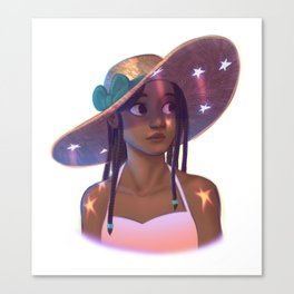 Star Hat Canvas Print