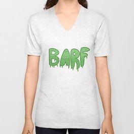 Barf GREEN Unisex V-Neck