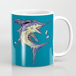 Jumping Marlin Coffee Mug