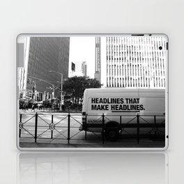 New York Post Truck, Manhattan Laptop & iPad Skin