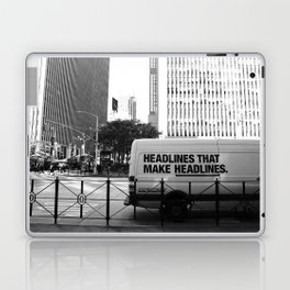 New York Post Truck, Manhattan Laptop & iPad Skin