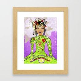 Goddess Power Framed Art Print
