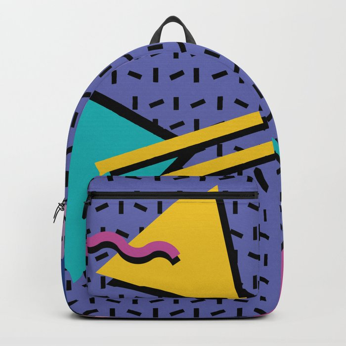 Memphis Pattern 9 - 90s - Retro Backpack