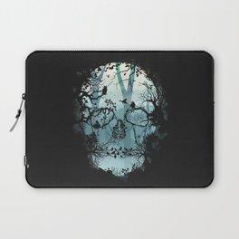 Dark Forest Skull Laptop Sleeve