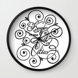 Keeper of the Lost Cities Wall Clock
