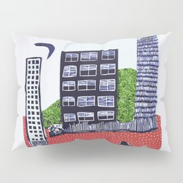 Town by night Pillow Sham