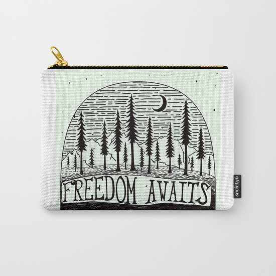 Freedom Awaits Carry-All Pouch