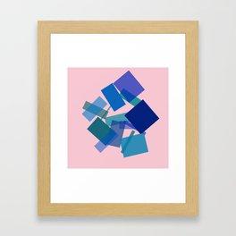 Motherly Guidance Framed Art Print