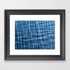 Water Pattern #1 Framed Art Print