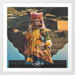 Arid Viscera Art Print