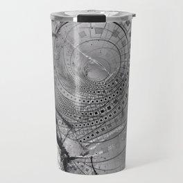 Fragmented Fractal Memories and Shattered Glass Travel Mug