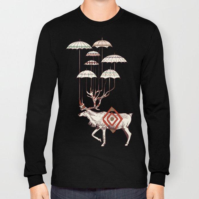 Rain Deer Long Sleeve T-shirt