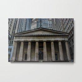 NYC Wall Street Metal Print