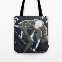jack frost Tote Bags featuring Jack Frost by Chouly-Shop