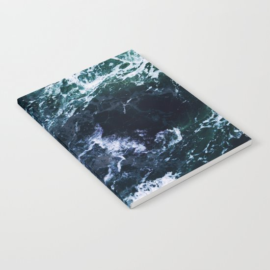 Wild ocean waves Notebook