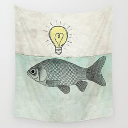 Ideas and Goldfish Wall Tapestry