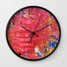 SCRAPE 11 Wall Clock