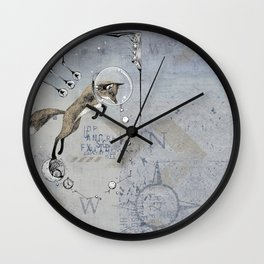 Relativity Fox Trot Wall Clock
