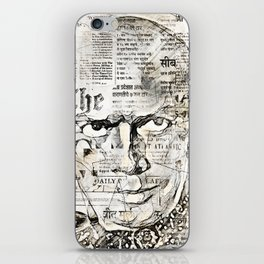 Stars And Medias Yul Brynner iPhone Skin