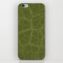 Leaf Texture iPhone Skin