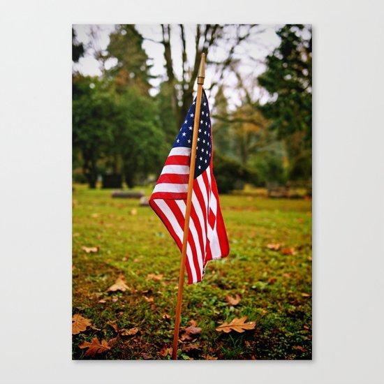 American symbolism Canvas Print