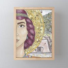 Priscilla Framed Mini Art Print
