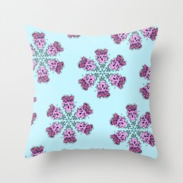 skull candy Throw Pillow