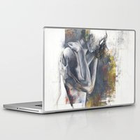 fault Laptop & iPad Skins featuring  Fault of the ground by Justin Harris