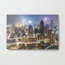 Kuala Lumpur Metal Print