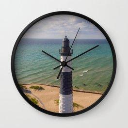 Lighthouse for Leggings Wall Clock