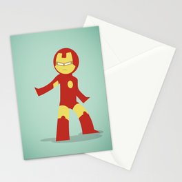 The most philanthropist of the Avenger: Little Iron Man Stationery Cards