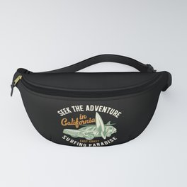 California Surfing Paradise Fanny Pack
