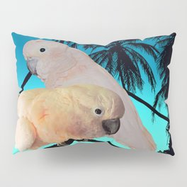 Cockatoo Tropical White Bird Coastal Beach Art A316a Pillow Sham