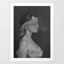 Blinding fear Art Print