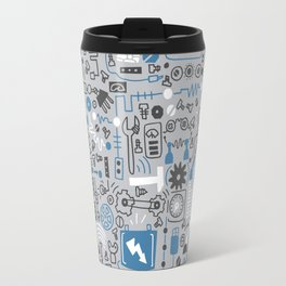 All my circuits in a pattern Travel Mug