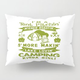 LOVE CAMPING Pillow Sham